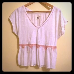 Anthroplogie Loose Fitting Tee - so pretty!